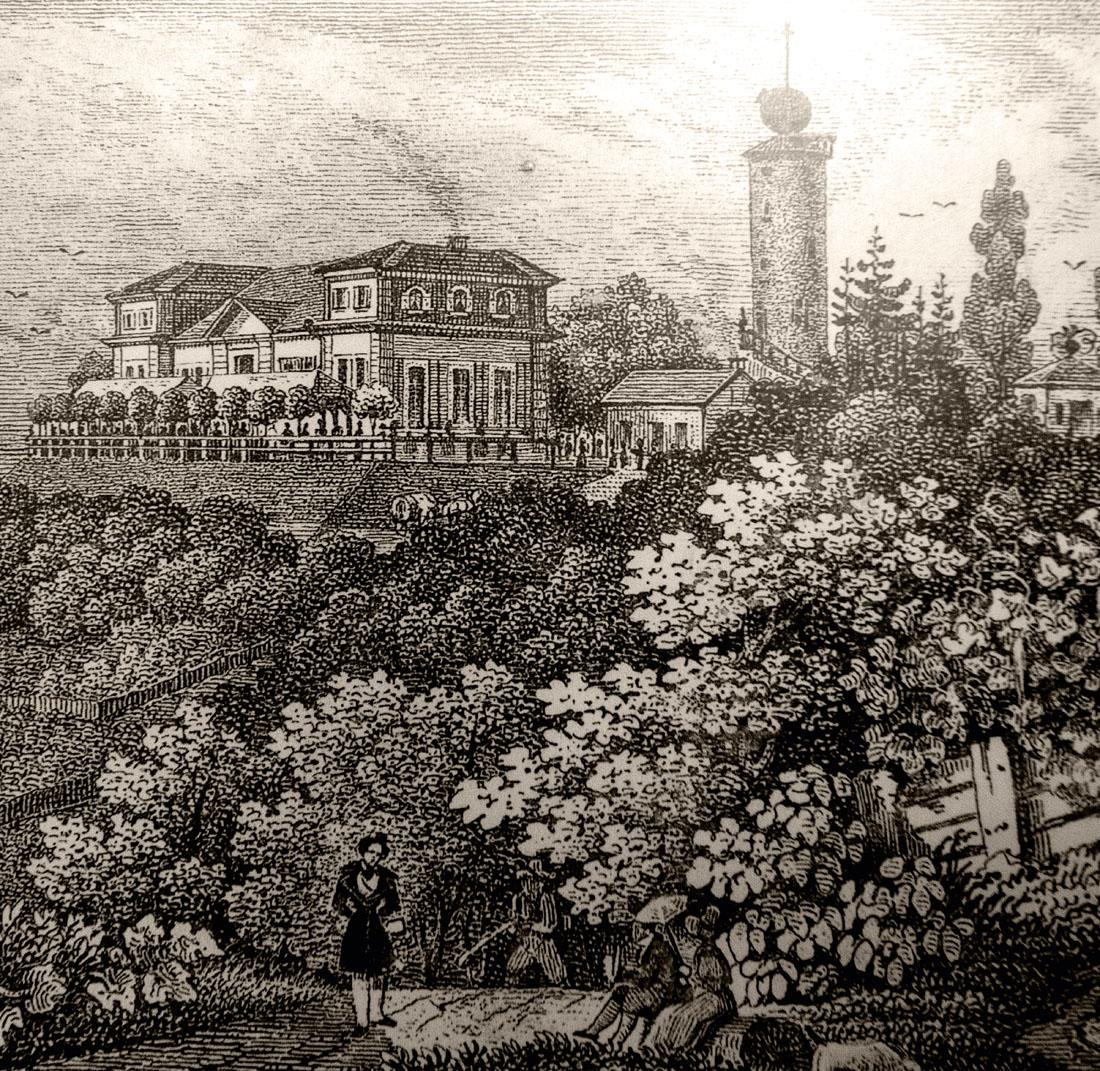 Lithografie von Louis und Fritz Wolff (ca. 1840)