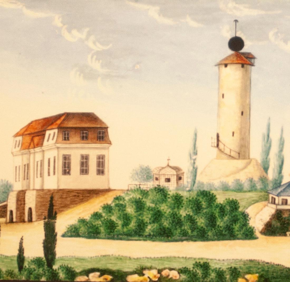 Der Wartberg von Heinrich Cluss (1813)