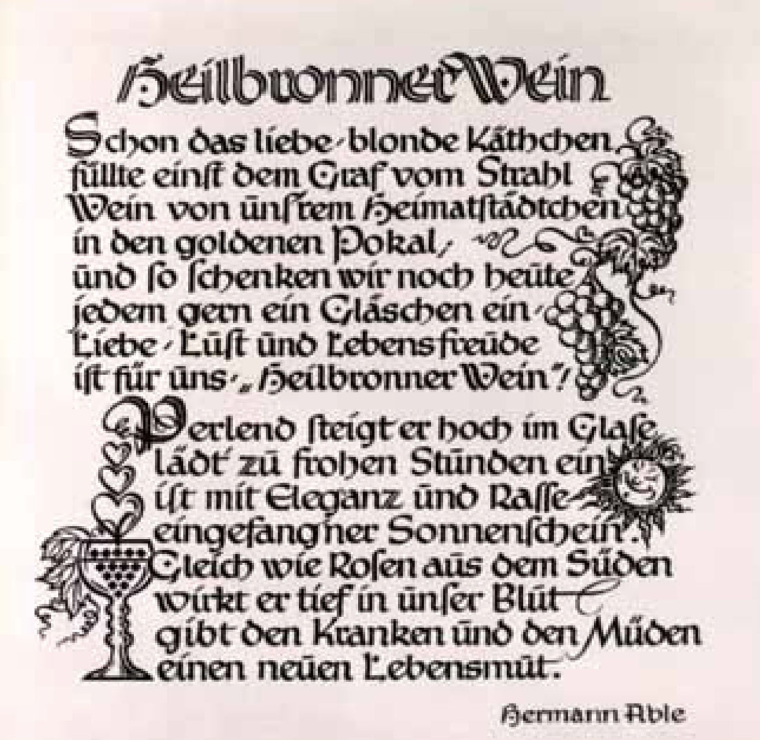 Gedicht von Hermann Able