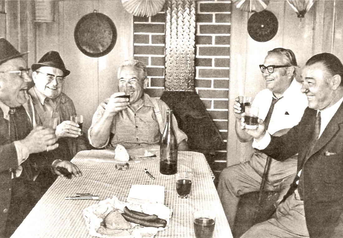 Heilbronner Besenwirtschaft in den 1960er-Jahren